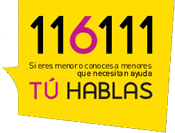 Tu hablas - 116111 - Telefono de ayuda a la infancia y la adolescencia - Gobierno Vasco